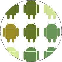 Android on White