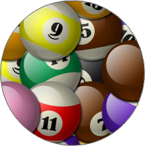 Billiard Balls (Overlapped)